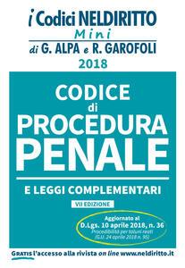Codice di procedura penale e leggi complementari. Con Contenuto digitale per accesso on line
