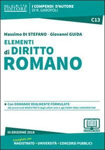 Elementi di diritto romano