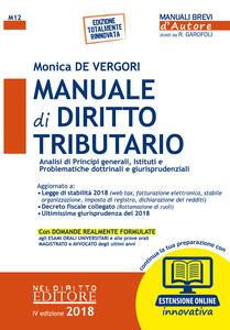 Manuale di diritto tributario. Con aggiornamento online
