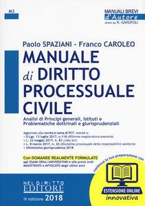 Manuale di diritto processuale civile. Con aggiornamento online