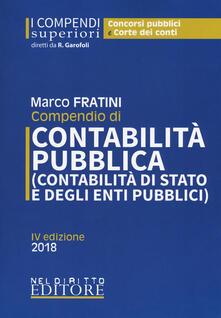 Rallydeicolliscaligeri.it Compendio di contabilità pubblica (contabilità di Stato e degli enti pubblici) Image