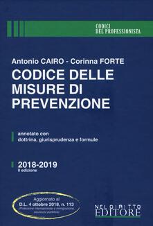 Camfeed.it Codice delle misure di prevenzione Image