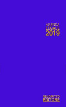 Voluntariadobaleares2014.es Agenda legale 2019 blu. Ediz. minore Image