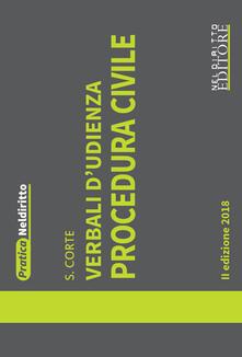 Premioquesti.it Verbali d'udienza. Procedura civile Image