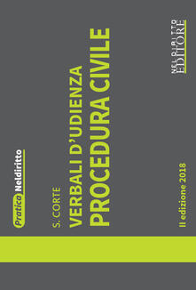 Atomicabionda-ilfilm.it Verbali d'udienza. Procedura civile Image