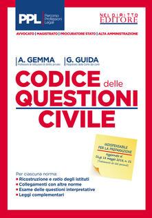Amatigota.it Codice delle questioni. Diritto civile. Dottrina e giurisprudenza Image