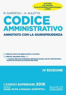 Radiospeed.it Codice amministrativo. Annotato con la giurisprudenza Image