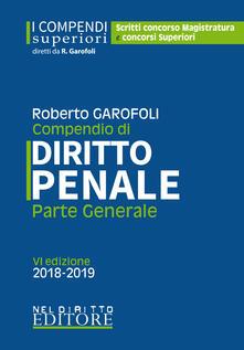 Camfeed.it Compendio di diritto penale. Parte generale. Con aggiornamento online Image