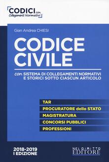 Radiospeed.it Codice civile. Con sistema di collegamenti normativi e storici sotto ciascun articolo Image