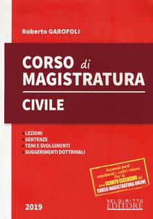 Tegliowinterrun.it Corso di magistratura civile. Lezioni, giurisprudenza, temi e svolgimento, suggerimenti dottrinali Image