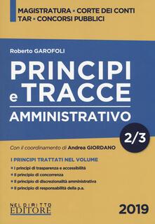 Rallydeicolliscaligeri.it Principi e tracce. Amministrativo. Vol. 2 Image