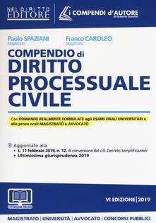Compendio di diritto processuale civile. Con aggiornamento online.pdf