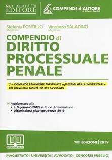 Festivalpatudocanario.es Compendio di diritto processuale penale. Con aggiornamento online Image