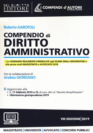 Compendio di diritto amministrativo. Con espansione online