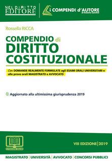 Promoartpalermo.it Compendio di diritto costituzionale. Con espansione online Image