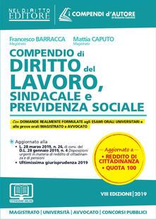 Compendio di diritto del lavoro, sindacale e della previdenza sociale. Con espansione online.pdf