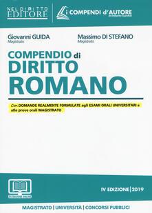 Ipabsantonioabatetrino.it Compendio di diritto romano. Con espansione online Image