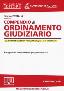 Writersfactory.it Compendio di ordinamento giudiziario. Con espansione online Image