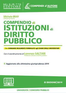 Listadelpopolo.it Compendio di istituzioni di diritto pubblico. Con aggiornamento online Image