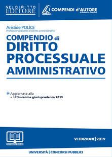Steamcon.it Compendio di diritto processuale amministrativo. Con aggiornamento online Image