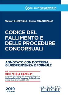 Librisulladiversita.it Codice del fallimento e delle procedure concorsuali. Annotato con dottrina, giurisprudenza e formule Image