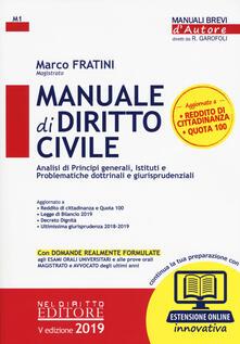 Filippodegasperi.it Manuale di diritto civile. Con aggiornamento online Image