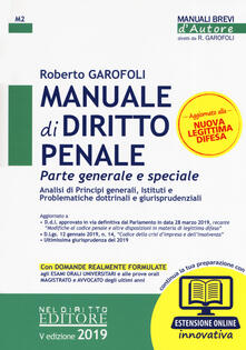 Grandtoureventi.it Manuale di diritto penale. Parte generale e speciale. Con espansione online Image