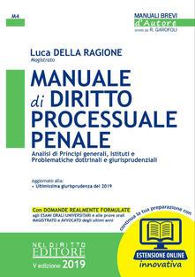 3tsportingclub.it Manuale di diritto processuale penale. Con espansione online Image