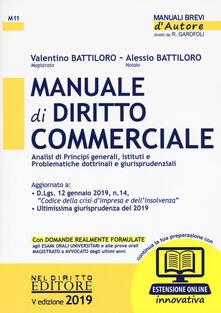 Parcoarenas.it Manuale di diritto commerciale. Con espansione online Image