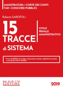 Nicocaradonna.it 15 tracce di sistema. Civile, penale, amministrativo Image
