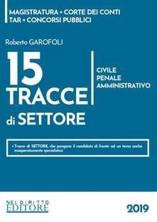 Promoartpalermo.it 15 tracce di settore. Civile, penale, amministrativo Image
