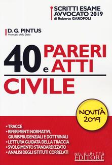 Fondazionesergioperlamusica.it 40 pareri e atti. Civile Image