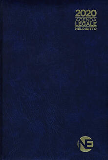 Nordestcaffeisola.it Agenda legale 2020. Ediz. blu Image