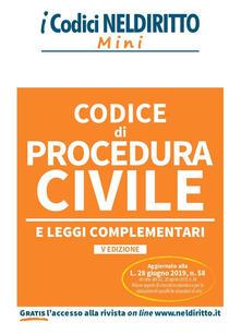 Promoartpalermo.it Codice di procedura civile e leggi complementari Image