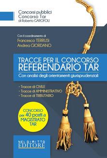 Squillogame.it Concorso per 40 referendari del TAR: le nuove tracce Tar Image