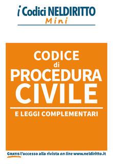 Grandtoureventi.it Codice di procedura civile e leggi complementari Image