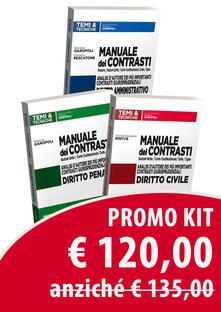 Partyperilperu.it Manuali dei contrasti: Diritto civile-Diritto penale-Diritto amministrativo. Kit Image