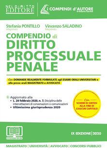 Amatigota.it Compendio di diritto processuale penale. Con aggiornamento online Image