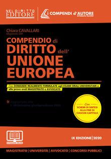 Nordestcaffeisola.it Compendio di diritto dell'Unione Europea. Con espansione online Image
