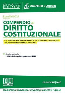 Lpgcsostenible.es Compendio di diritto costituzionale Image