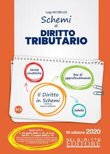 Schemi di diritto tributario - Luigi Iacobellis - copertina