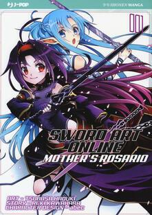 Capturtokyoedition.it Sword art online. Mother's Rosario. Vol. 1 Image