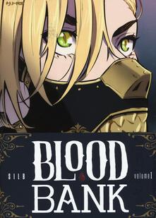 Blood bank. Vol. 1 - Silb - copertina