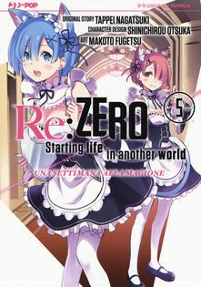 Rallydeicolliscaligeri.it Re: zero. Starting life in another world. Una settimana alla magione. Vol. 5 Image