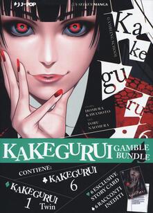 Voluntariadobaleares2014.es Kakegurui. Gamble bundle: Kakegurui Twin vol. 1-Kakegurui vol. 6. Con 6 Carte Image