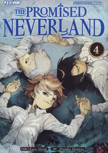 Vastese1902.it The promised Neverland. Vol. 4: Voglio vivere Image