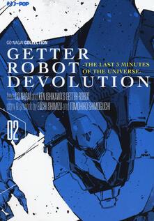 Secchiarapita.it Getter robot devolution. The last 3 minutes of the universe. Vol. 2 Image