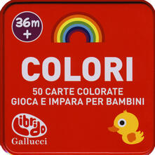 Voluntariadobaleares2014.es Colori. 50 carte domande e risposte Image