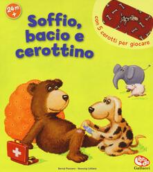 Steamcon.it Soffio, bacio e cerottino. Libro con attaca-stacca Image