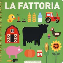 Antondemarirreguera.es La fattoria. Il mio primo libro stencil. Ediz. a colori. Ediz. a spirale Image